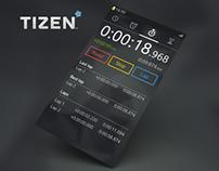 Clock App for Tizen OS