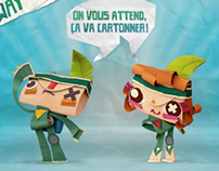 PLAYSTATION - TEARAWAY | Papermaton