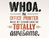 Promise Printers Advertising