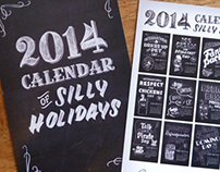 2014 Calendar of Silly Holidays