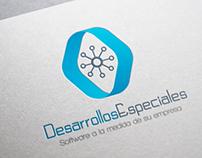DesarrollosEspeciales Logo Branding