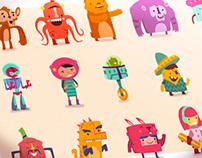 :::Hopscotch characters:::