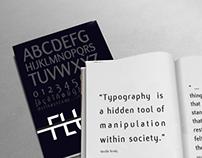 Typographic Book - Flux Font