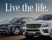 Mercedes Benz : Live The Life