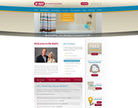 Re-bath of South Louisiana - Web Design