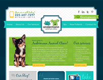ANDERMANN ANIMAL CLINIC - Web Design
