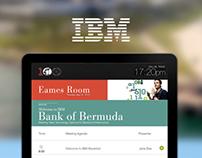 Digital Meeting Displays for IBM