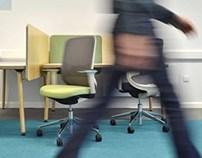 Hiberform 'Jig' Office Workstation