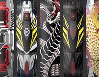 AW177 x Canvas Skateboards Custom Skate Decks