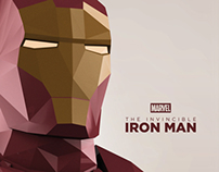 Marvel's The Invincible Iron Man cover design