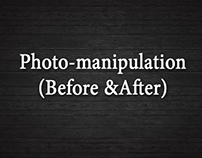Photo-manipulation (Before & After)