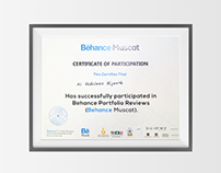 My participation in Behance reviews