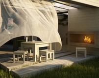 Private house & garden reconstruction