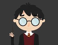 Vector Illustrations - Harry Potter