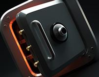 SAFE BOX - ICON - 3D