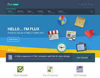 Flux - Flat Corporate WP Theme