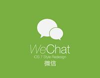 WeChat iOS7 Concept