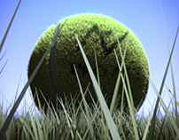 Tennis Ball Render
