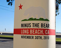 Minus the Bear Secret Tour Poster Series