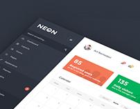 Neon - Flat Admin Theme