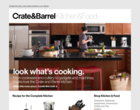 Crate&Barrel Browse Emails