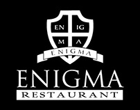 Enigma Restaurant Collateral