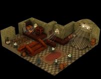 Final Fantasy Tactics game environment