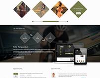 Artoon - One Page HTML Template
