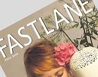 Lifestyle magazine spreads