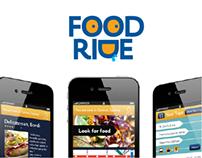 Concept: Social Mobile App / FoodRide