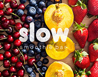 Slow Smoothie Bar: Corporate Identity