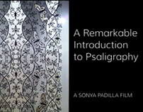 (VIDEO) A Remarkable Introduction to Psaligraphy