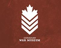 Canadian War Museum - Logo Redesign