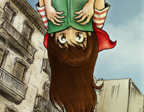 Poster of 'Andalucia's Manga Convention'
