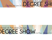University Degree Show Advertising And Promotion