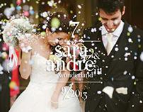Sara & André in Wonderland | Wedding Planning