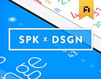 SPK x DSGN  [ First release ]