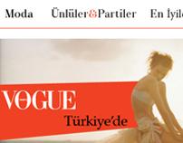 VOGUE Turkey Website