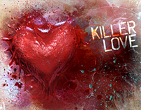 Killer Love & Breaking Clouds,CD Artwork for George Guy