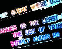 Rave Typography