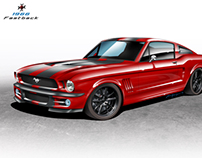 67' Mustang Fastback for Customs Factory
