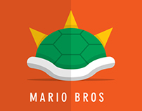 Mario Bros Minimalist Posters