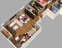 3D Floor Plan ..