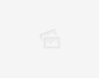 Black ,red,purple,shades hair, music cover album.