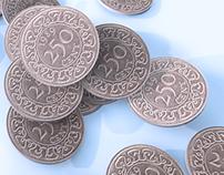 CGI SURINAME COINS