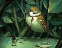 Lofty sparrow