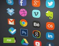 Free 20 Social Media Bages