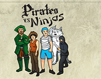 Pirates VS Ninjas Boards