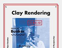 Clay Rendering