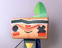 tearaway paper toys